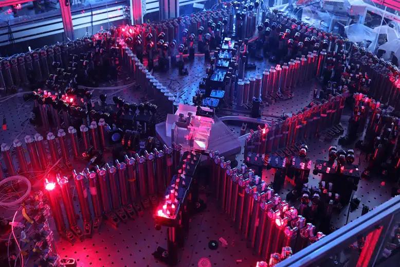"""O computador quantico chines """"Zuchongzhi"""" em 2021"""