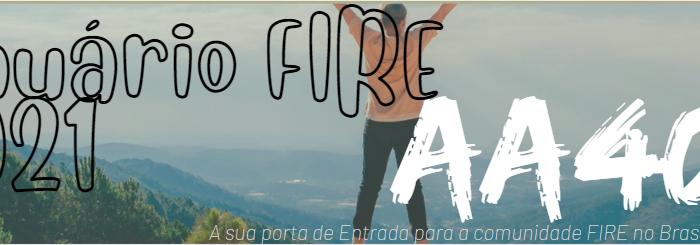 Anuário FIRE 2021 – Esperamos a sua resposta!